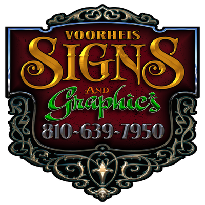 J W Voorheis Signs 159 E State St Montrose Mi Advertising Nec