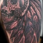 2e686e17a ... Photo of Wayne Kendrick Tattoo - Winston-Salem, NC, United States.  skull ...