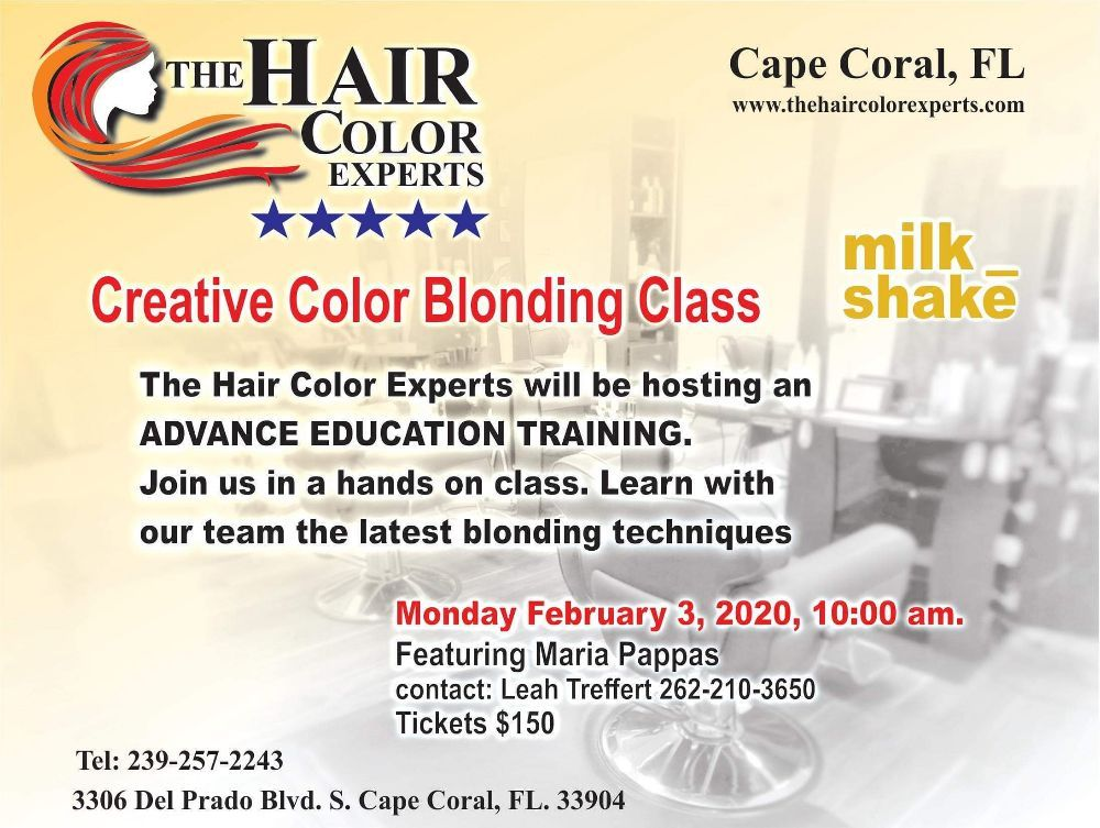 The Hair Color Experts: 3306 Del Prado Blvd S, Cape Coral, FL