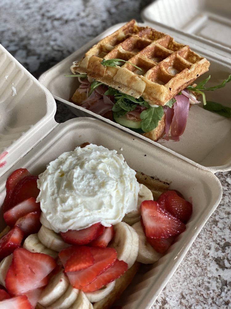 Hello Waffle Cart: 3151 NE 2nd Ave, Camas, WA