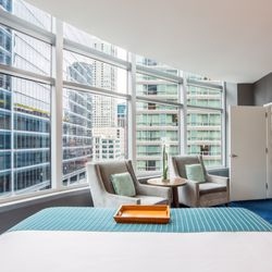 Photo Of Kinzie Hotel Chicago Il United States The King Suite With