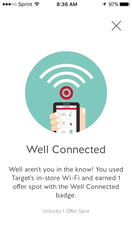 Free Wifi Use Your Target Cartwheel Yelp