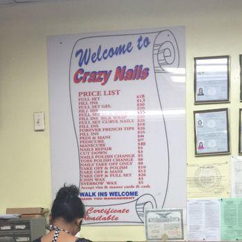 Crazy nails 57 photos 24 reviews nail salons 14605 for 24 hour nail salon queens ny