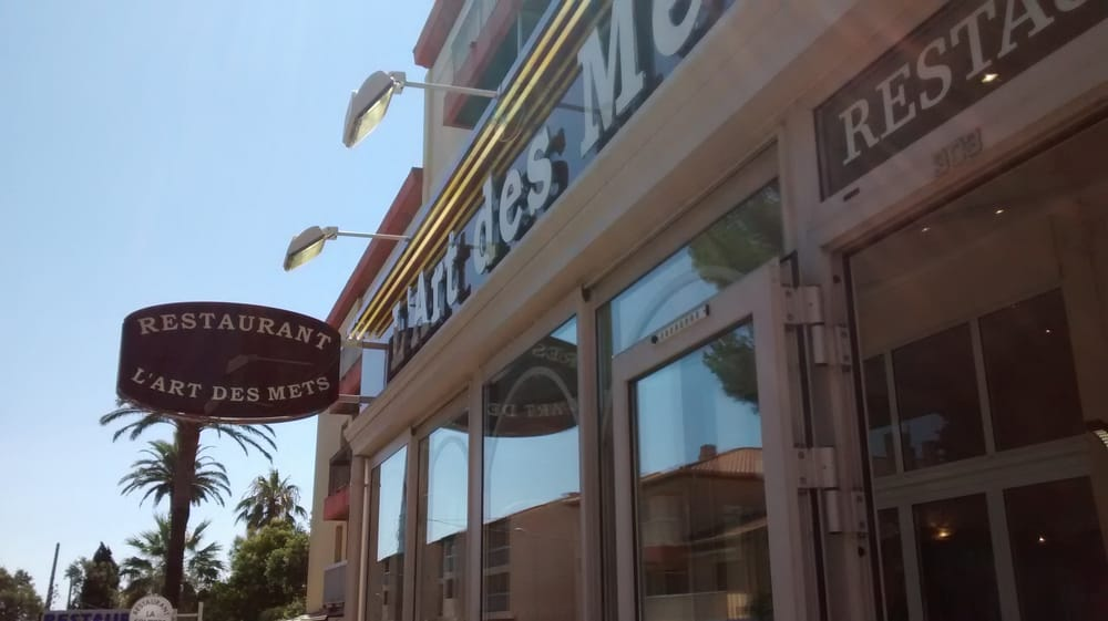 l art des mets fran ais 303 boulevard honor de balzac st aygulf var france restaurant. Black Bedroom Furniture Sets. Home Design Ideas