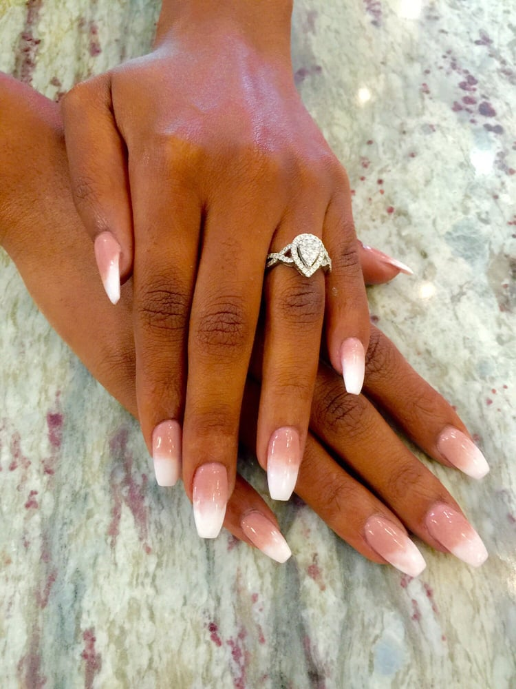 Beautiful work by Vicky. Specialist for coffin nail shaping and ...