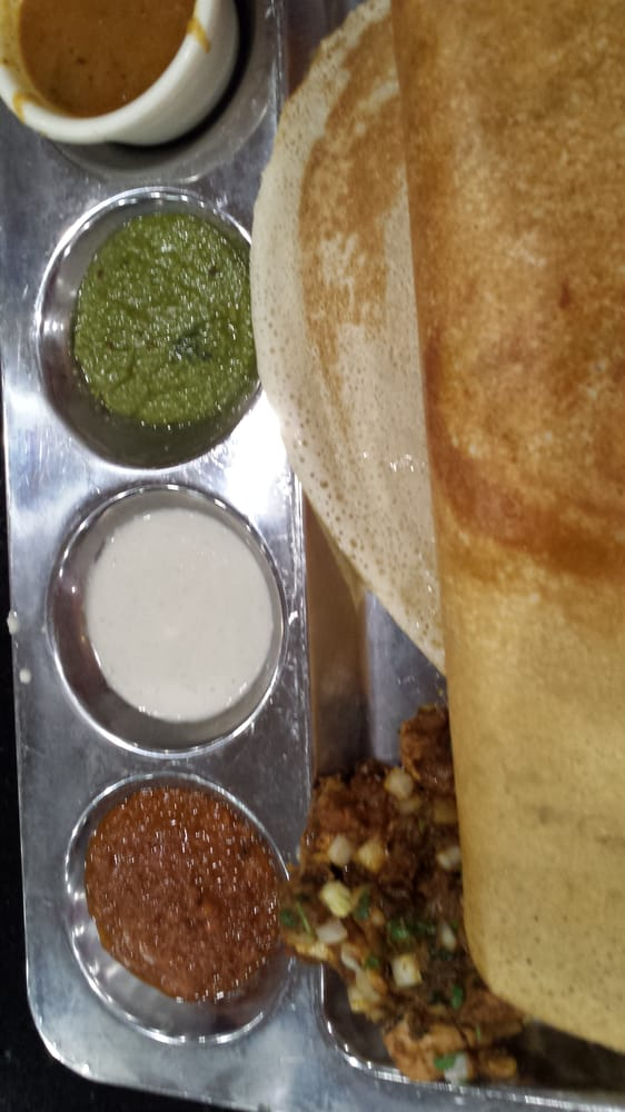 Chicken chetinad dosa spicy yelp for 8elements perfect indian cuisine