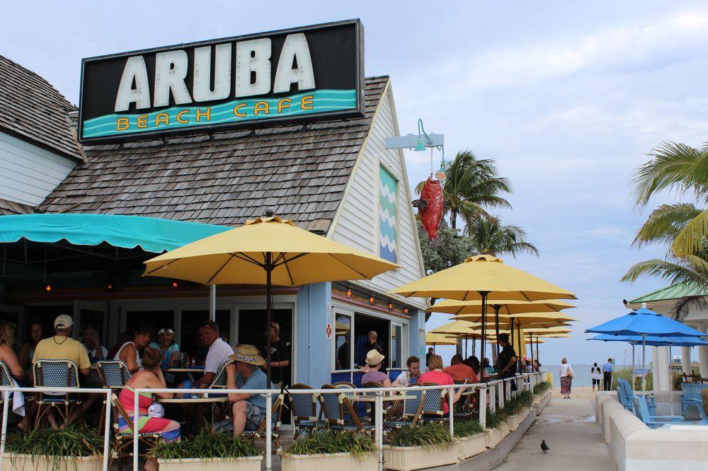 Aruba Beach Cafe Lauderdale By The Sea Fl