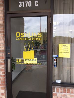 Oshuns Candles & Herb Store - 3170 Dauphin St, Mobile, AL