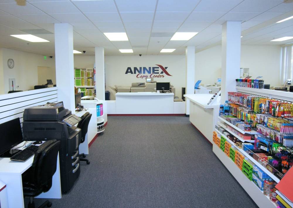Annex copy printing services 3760 riley st midway for Copy design