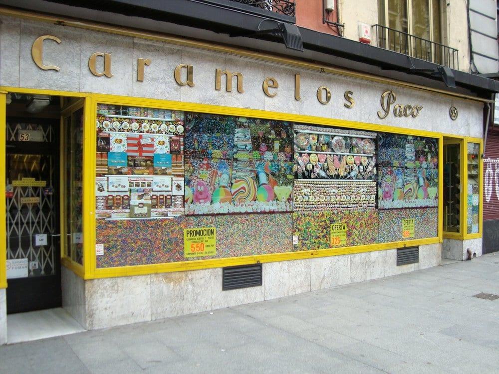 Caramelos paco 28 recensioni negozi di dolciumi for Calle colorate non fioriscono