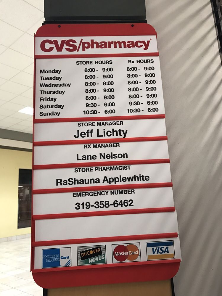Cvs Pharmacy Clinton St Iowa City