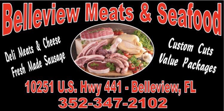 Belleview Meats and Seafood: 10251 US Hwy 441, Belleview, FL