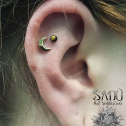 Photo Of Sadu Body Piercing Modifications Charlotte Nc United States Ear