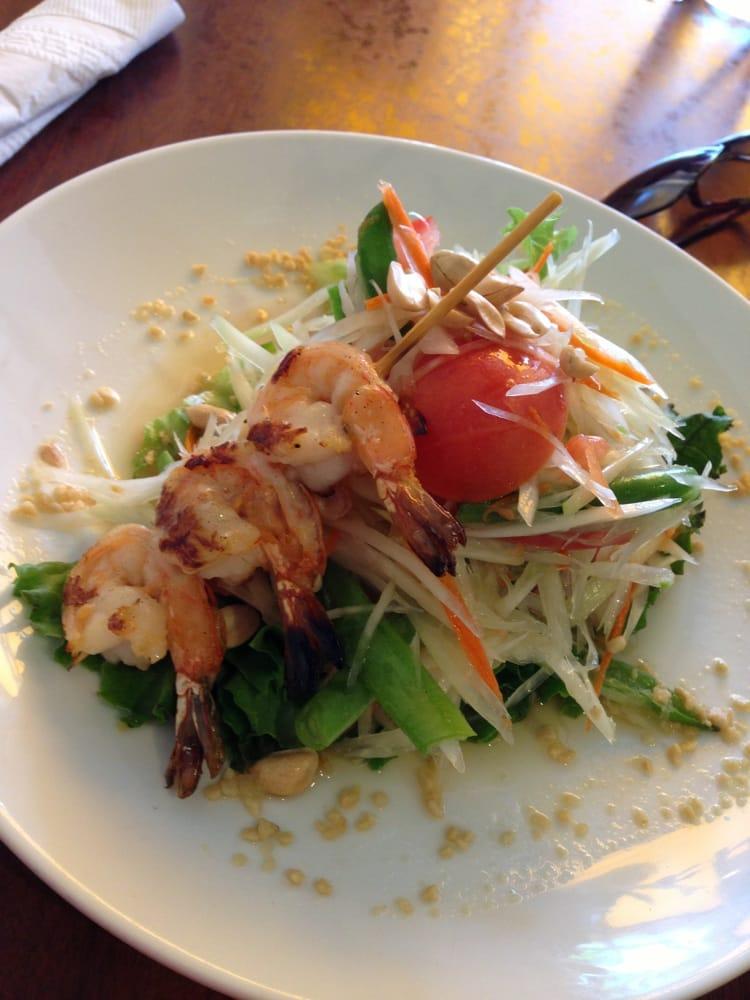 Grilled shrimp papaya salad yelp for Arlington thai cuisine