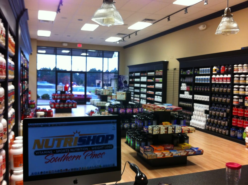 Nutrishop: 10725 S US Hwy 15, Southern Pines, NC