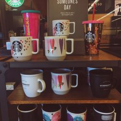 Photo Of Starbucks   Fullerton, CA, United States. Valentineu0027s Day Mugs And  Cold ...