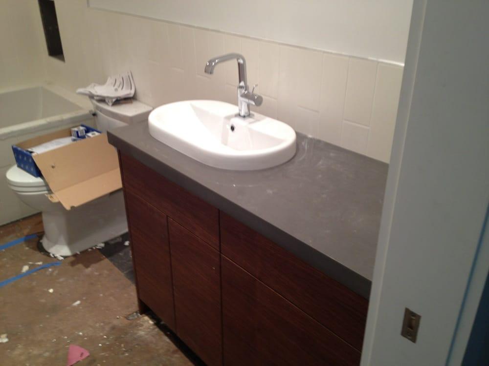 cemento caesarstone quartz countertops yelp. Black Bedroom Furniture Sets. Home Design Ideas