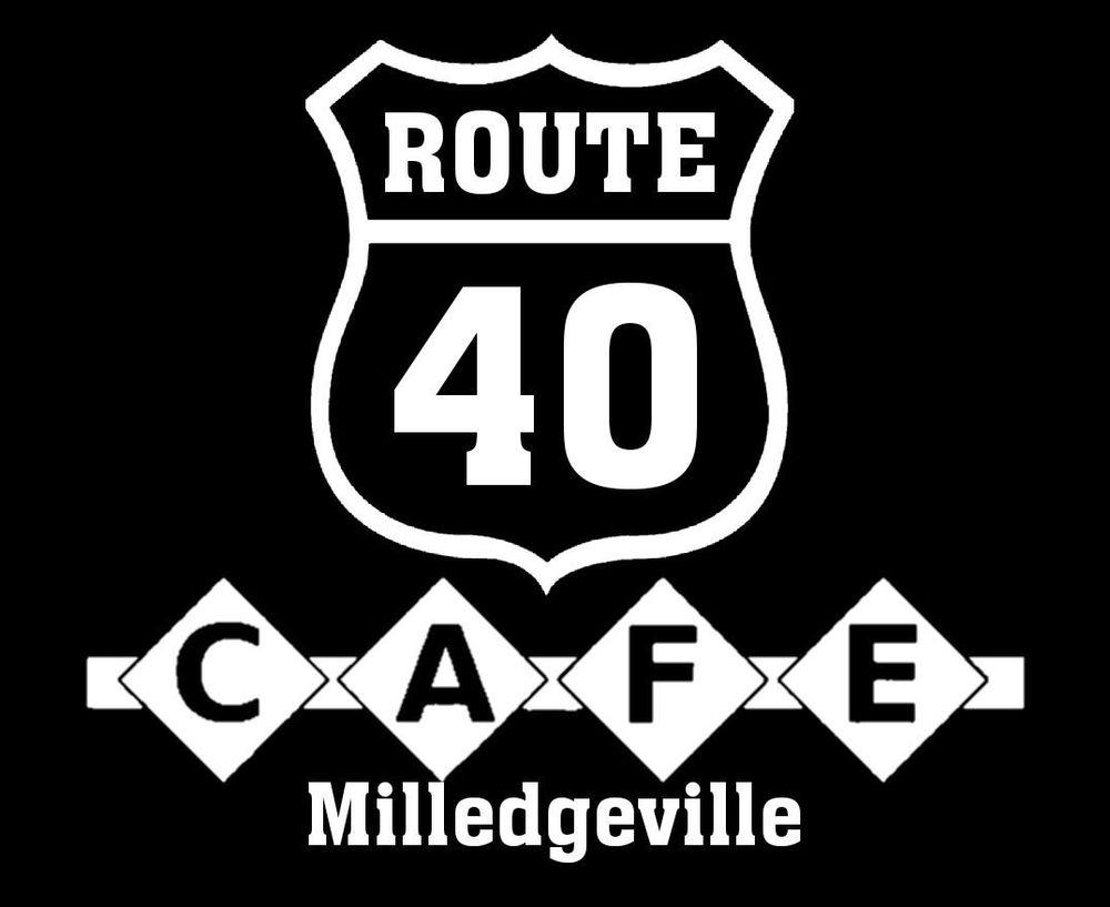Route 40 Cafe: 14 S Washington St, Milledgeville, IL
