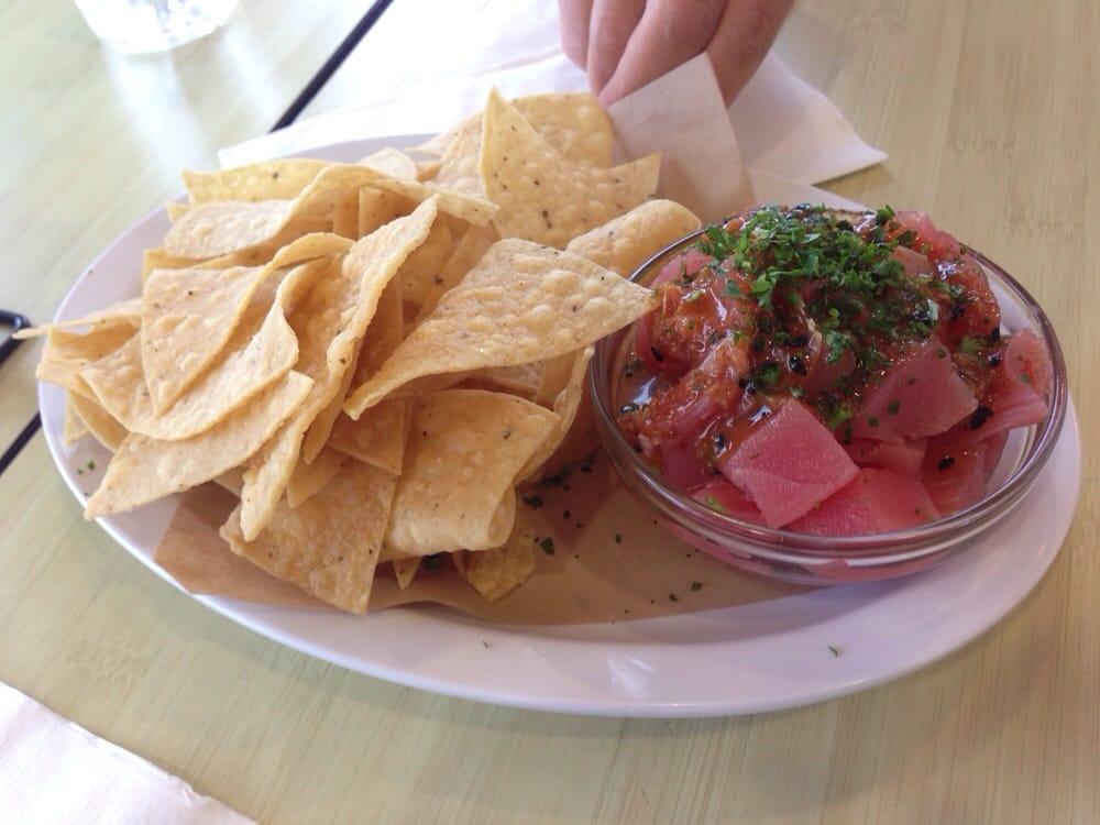 Ahi poke yelp for Malibu fish grill