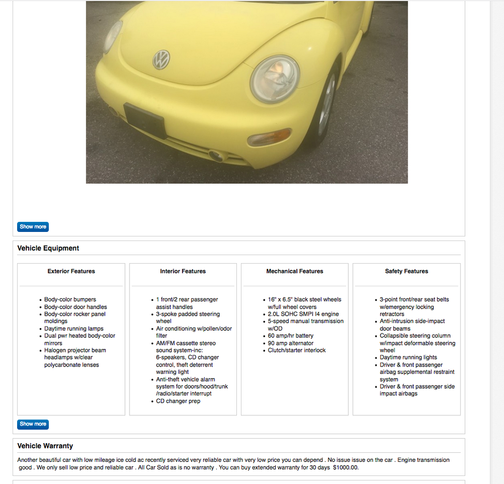 Fancy ebay united states motors sketch classic cars for Ebay motors classified ads