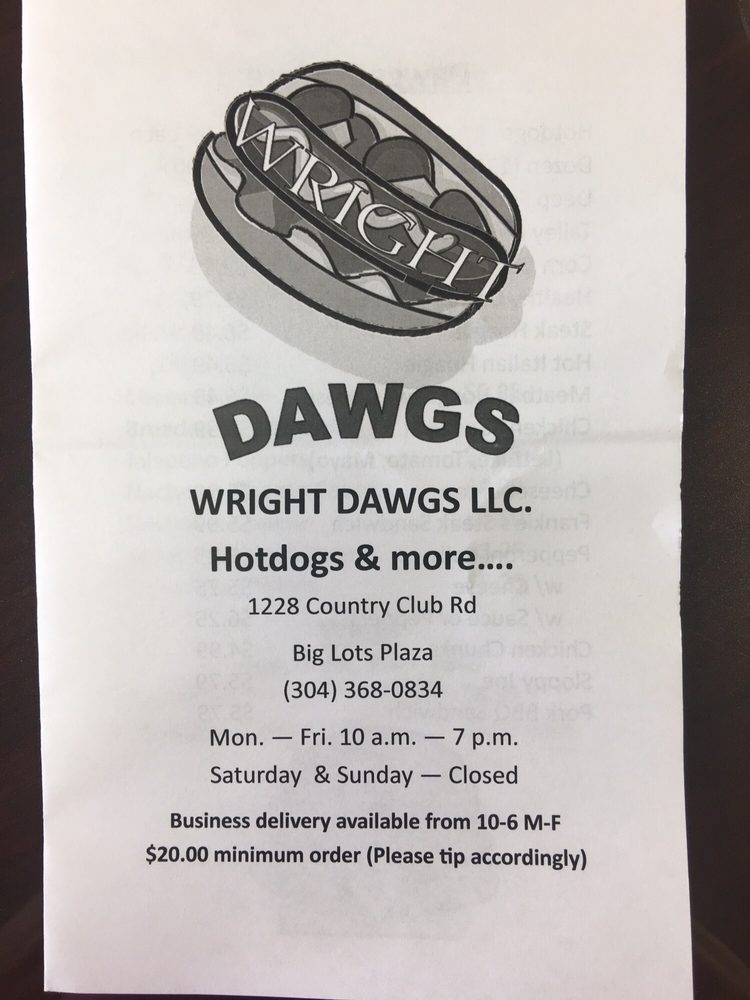 Wright Dawgs: 1228 Country Club Rd, Fairmont, WV
