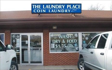 The Laundry Place Laundromat: 308 S Ankeny Blvd, Ankeny, IA