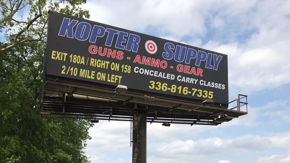 Kopter Supply: 5230 US Hwy 158, Advance, NC