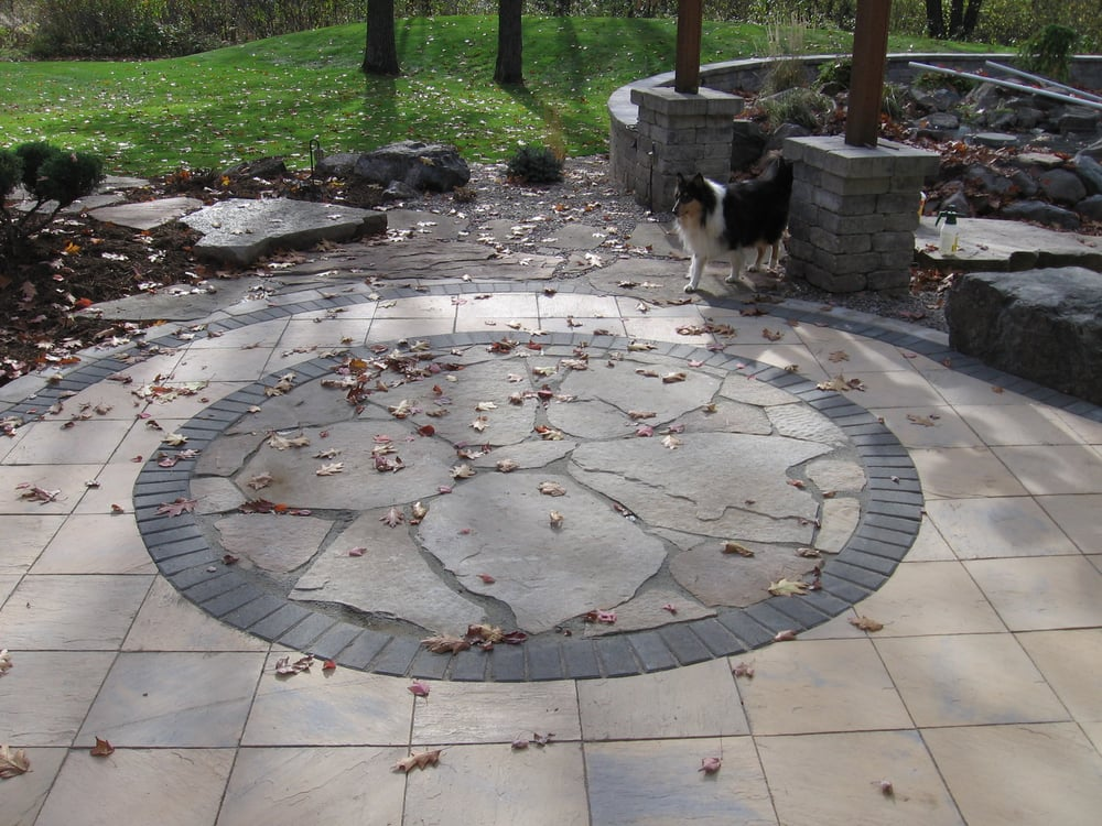 Photo Of Landscape Solutions By Susan Murphy   Weston, WI, United States.  Flagstone
