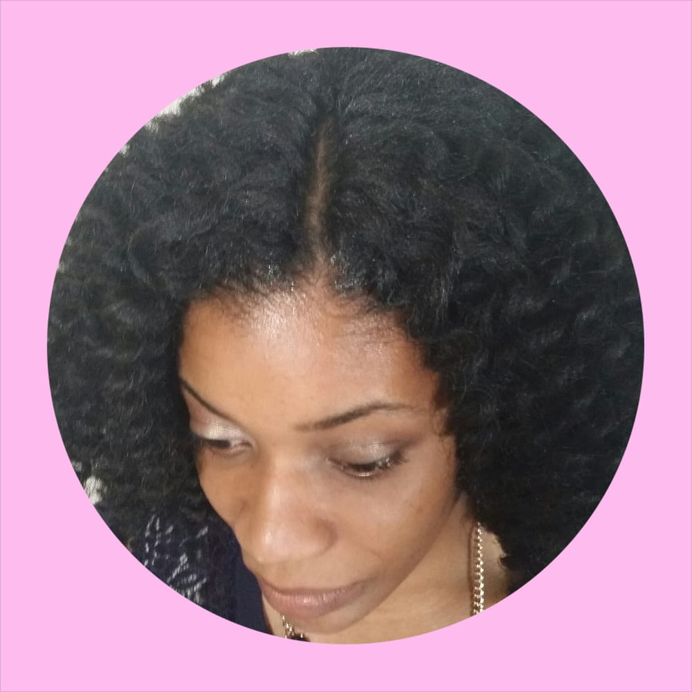Crochet Braids With Precurled Marley Hair Invisible Part Yelp
