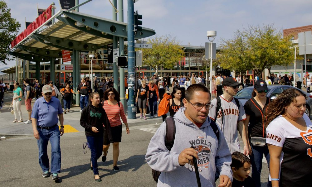 San Francisco Caltrain Station