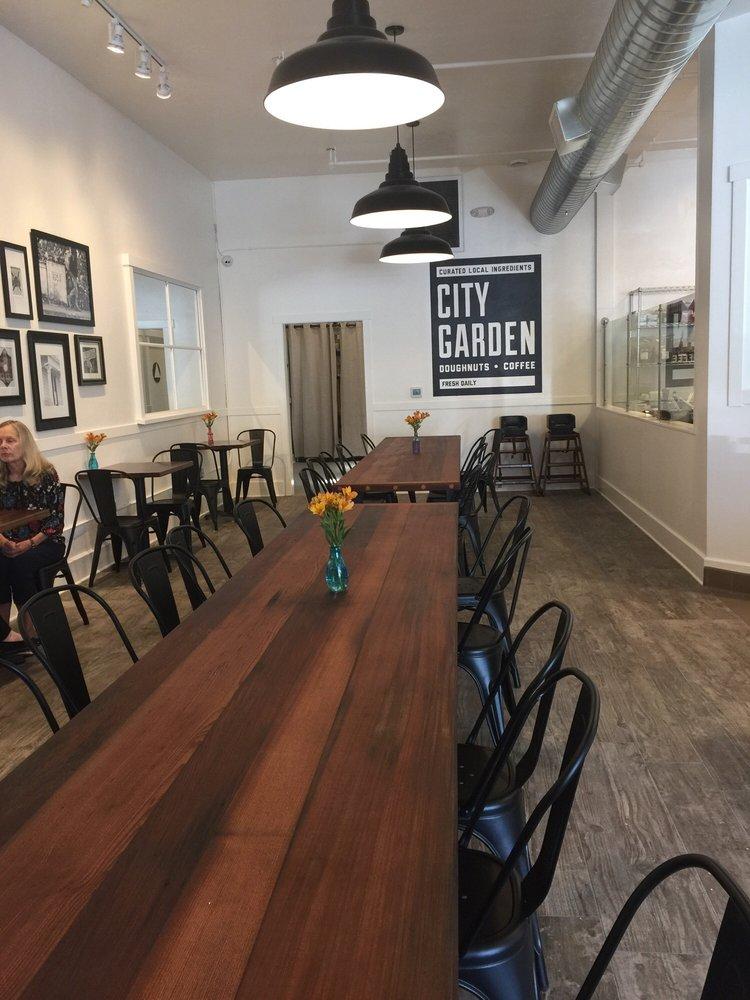 Photo Of City Garden Doughnuts Coffee Santa Rosa Ca United States