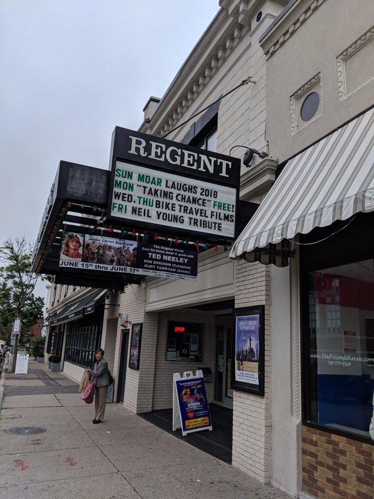 Regent Theatre: 7 Medford St, Arlington, MA