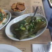 ... , Noord-Holland, The Netherlands. Spicy mushroom in banana leaf