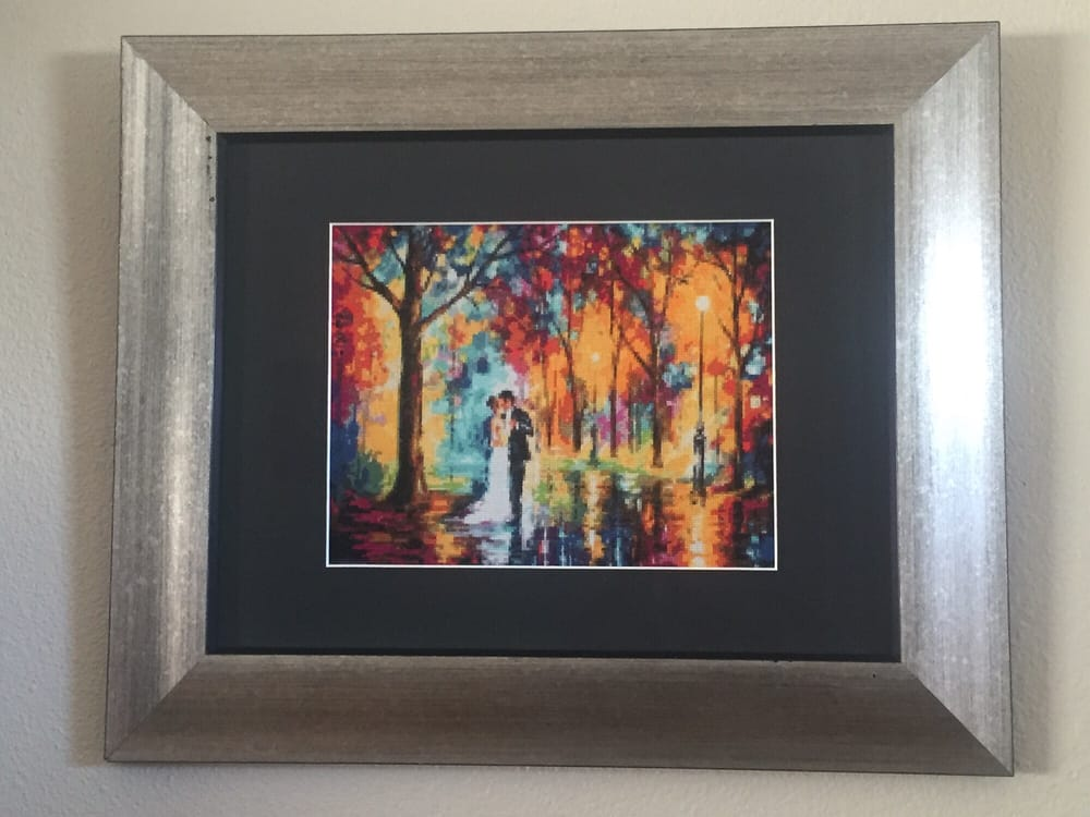 Cross Stitch Wedding Gift - Yelp
