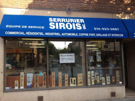 Serrurier sirois nycklar lassmeder 3950 rue ontario for Serrurier montreal