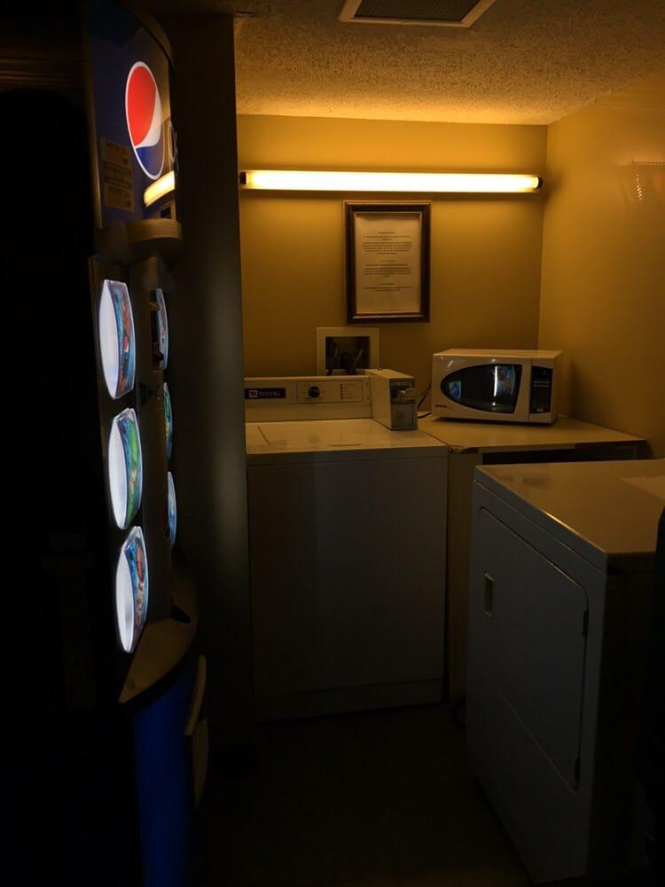Ice, soda vending machine, laundry, and microwave - Yelp