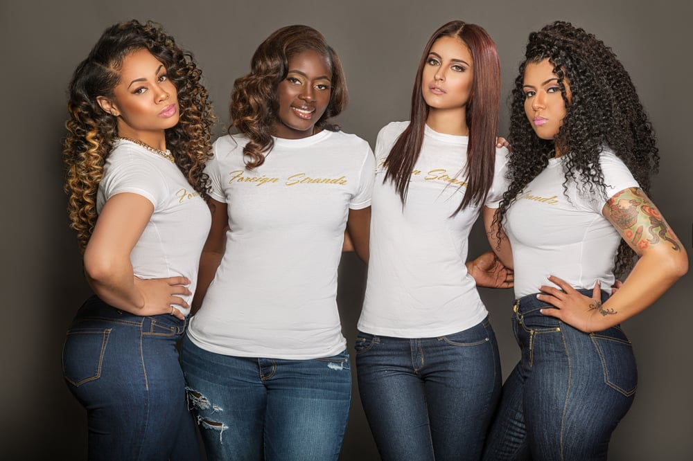 Photoshoot With Our Beautiful Models Wearing Our Virgin Hair
