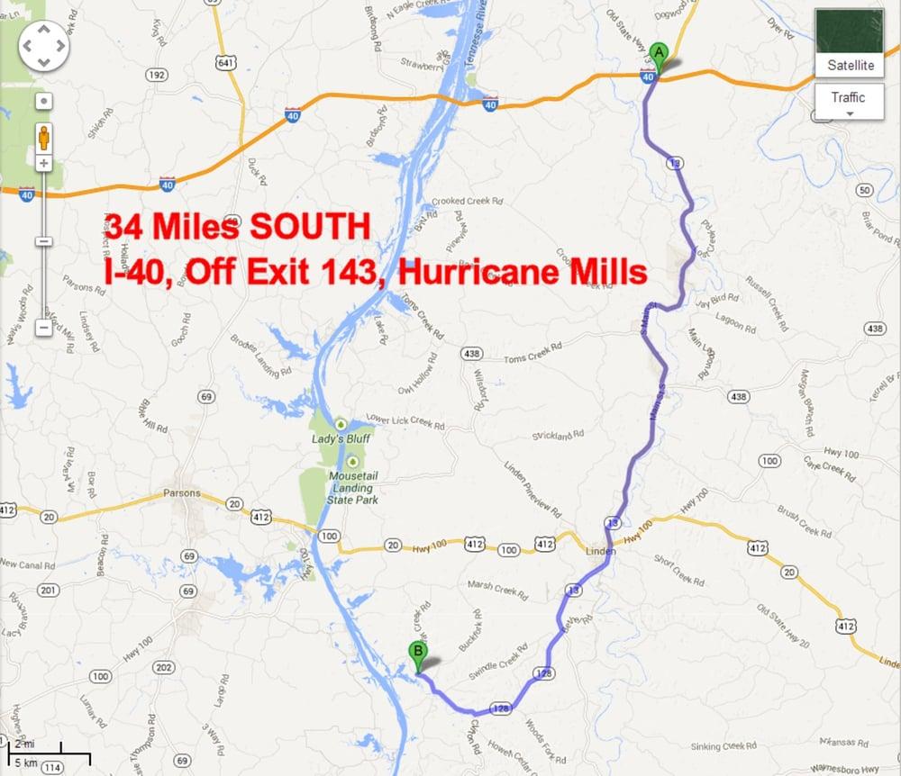 Hawgs N Hillbillies Biker Bar: 2909 Cedar Creek Rd, Linden, TN