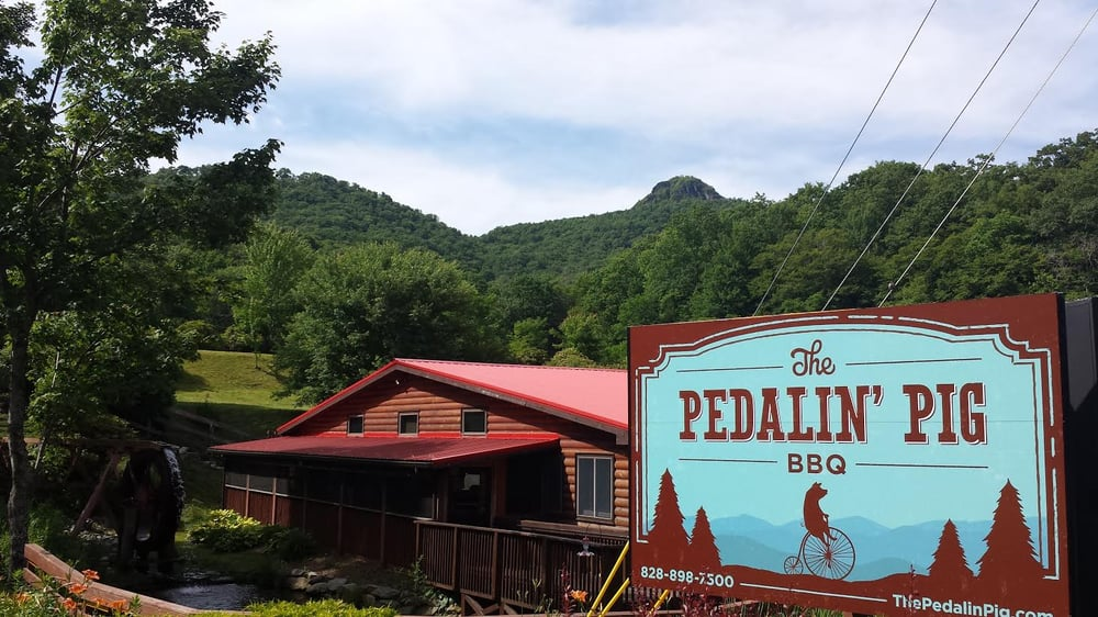 The Pedalin Pig - Banner Elk: 4235 NC-105, Banner Elk, NC