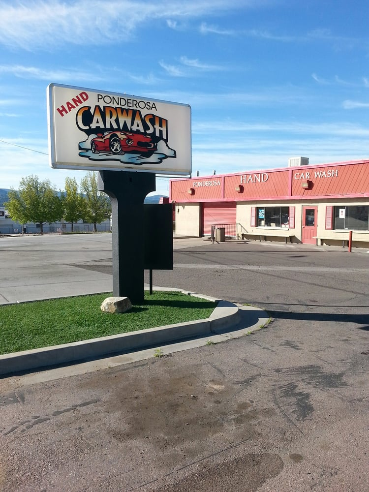 Ponderosa Hand Car Wash: 1235 W Iron Springs Rd, Prescott, AZ