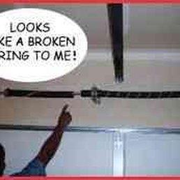 broken garage doorTown  Country Garage Door Repair  Garage Door Services