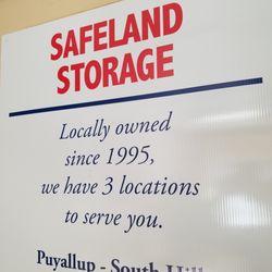 Photo Of Safeland Storage   Puyallup, WA, United States. Locally Owned  Since 1995