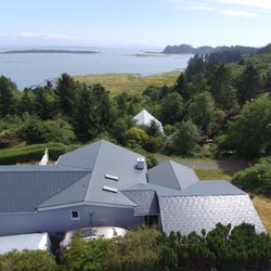 Photo Of Interlock Metal Roofing   Washington   Seattle, WA, United States.  Drone