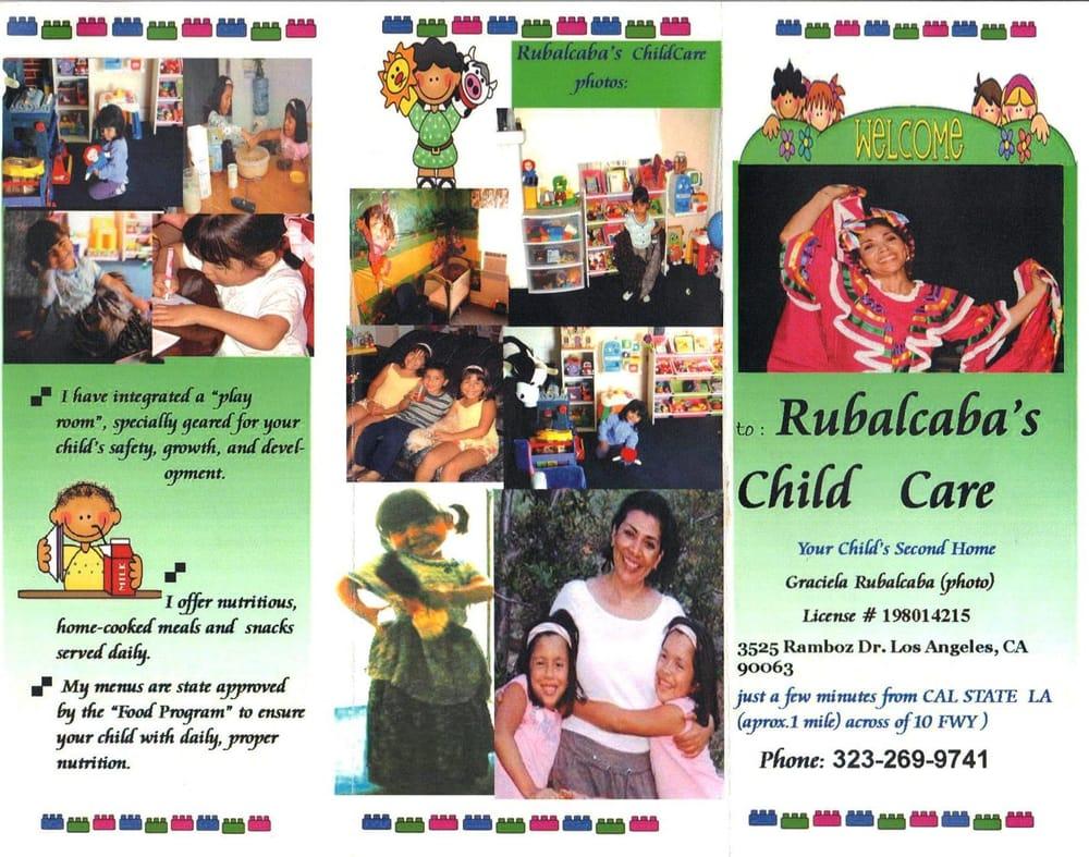 rubalcaba childcare preschools 3525 ramboz dr los angeles ca phone number yelp