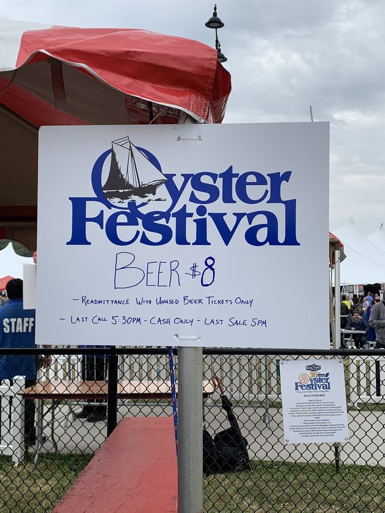The Oyster Bay Oyster Festival: 1 The Waterfront, Oyster Bay, NY