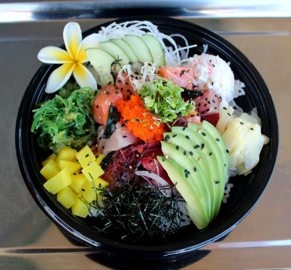 J fish premium poke sushi 290 photos 206 reviews for Fish me poke menu