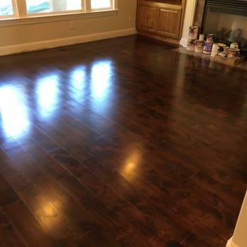 photo of hardwood floors san francisco ca united states after staining