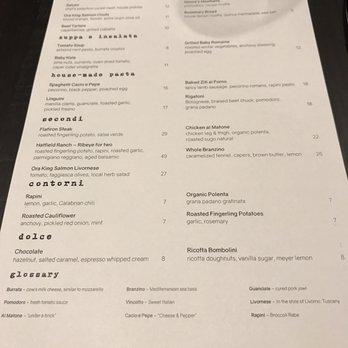 Tavernonna Restaurant Kansas City Yelp Reviews