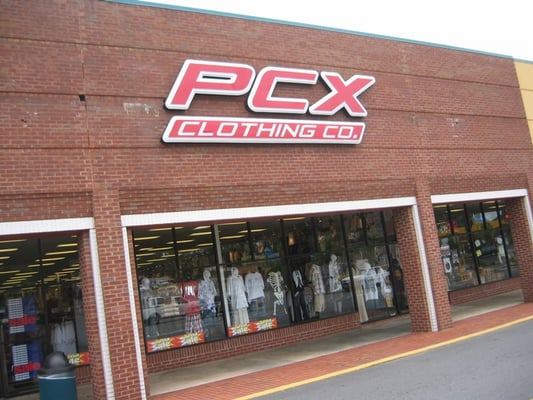 Pcx clothing store locations