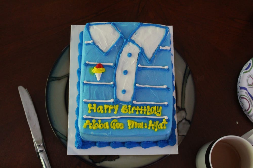 Shirt Cake For Husbands Birthday Cake Yelp